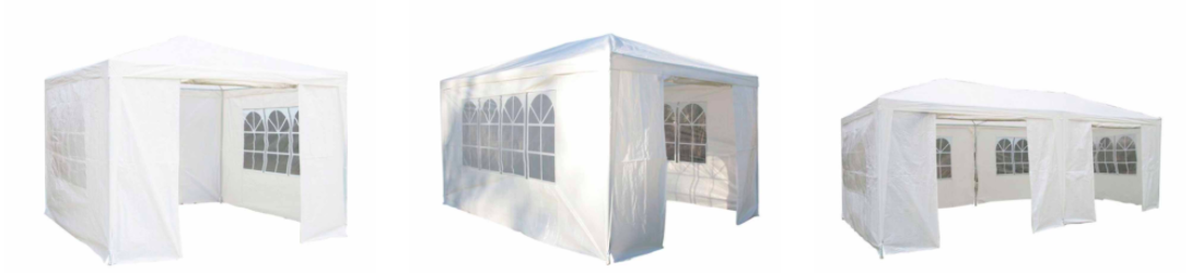 White party tents