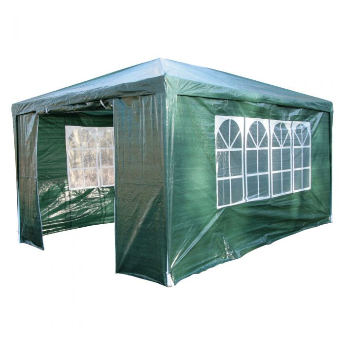 Green party tent